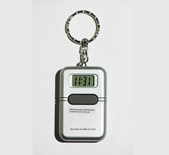 Talking Keychain Watch