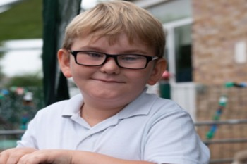 Picture Of Boy Living With Vision Loss