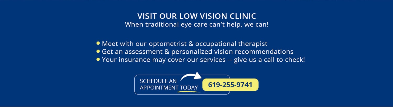 Visit our low vision clinic