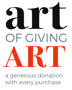art of giving art